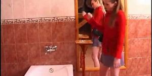 Lesbian girl mature seduces younger