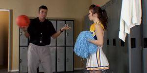 Cheerleader Fucked By Coach