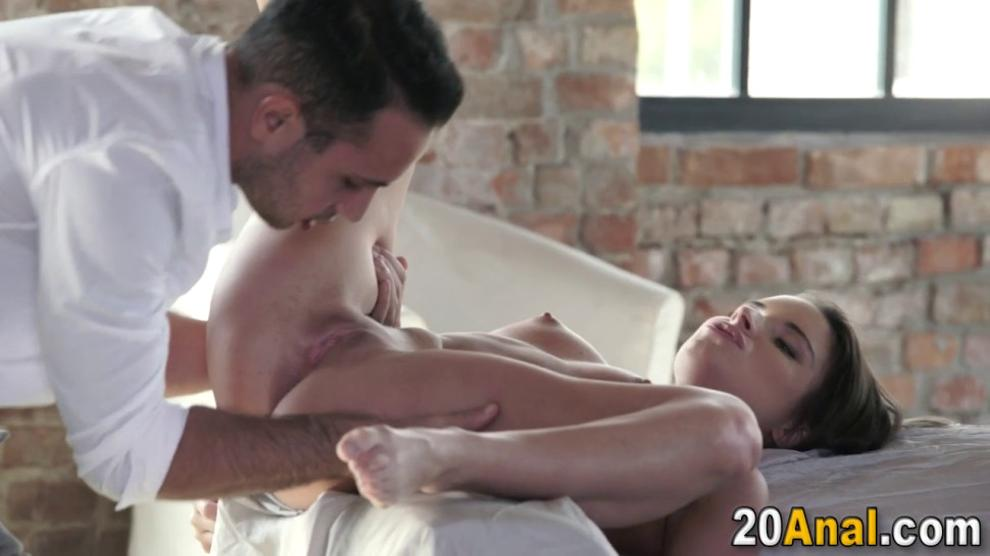 Rimmed Teenager Takes Facial