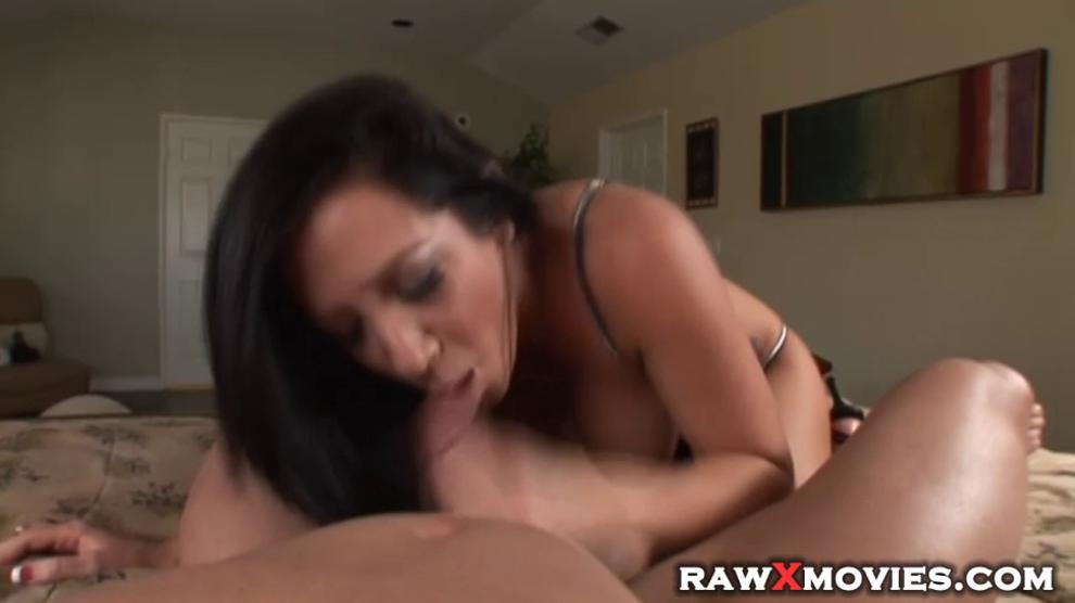 Horny babes giving perfect blowjob in POV