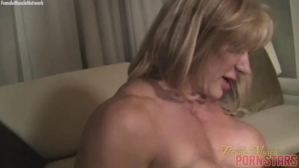 DIRTYMUSCLE - Three Muscle Women Fuck Some Wimp