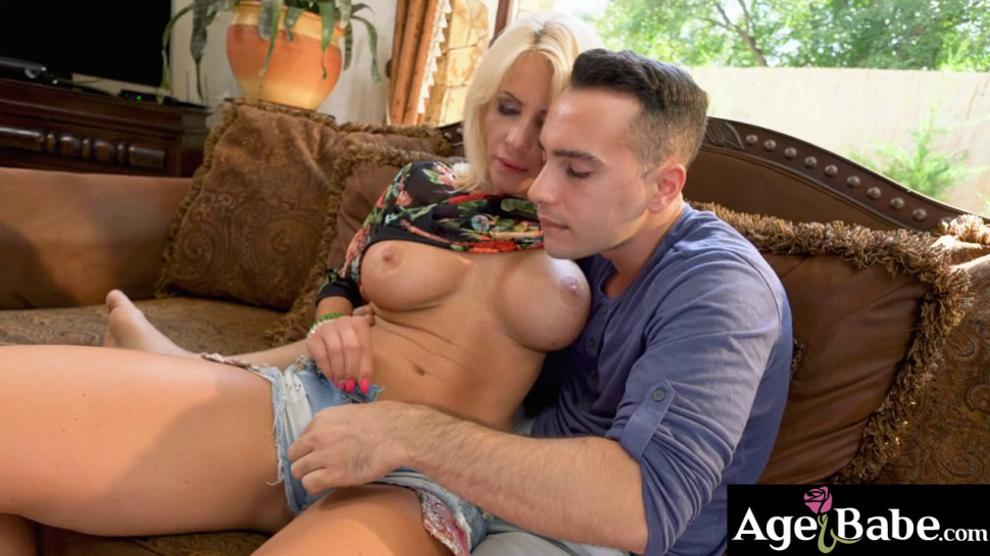 Sexy Mature Tiffany Uses All Her Experience to Show Young Raul How to Love a Woman