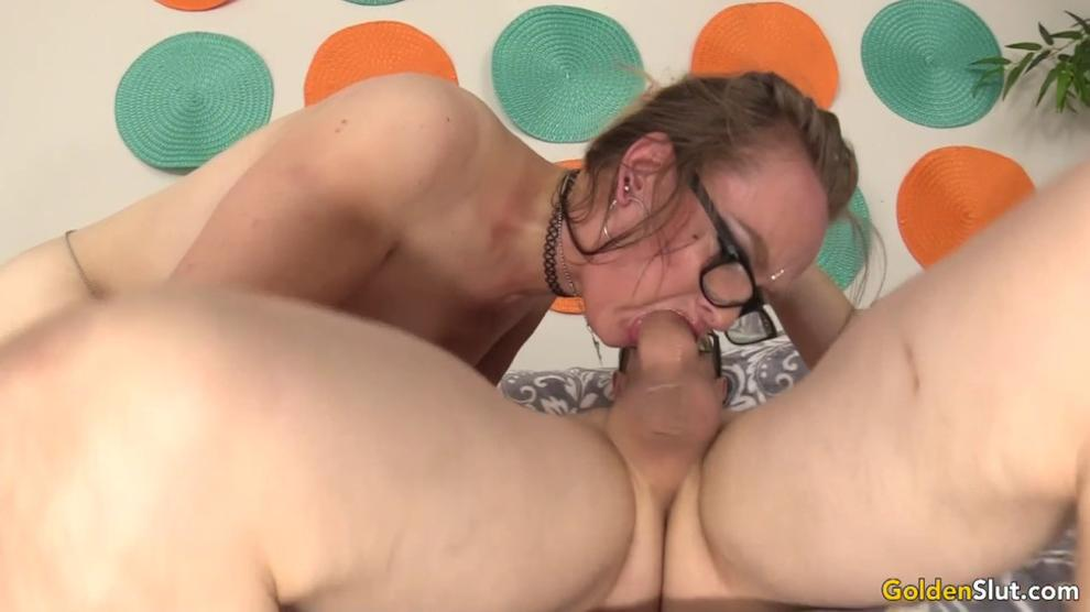 Ugly Grandma Lilith Lust Fucks a Younger Guy Like Shes Half His Age