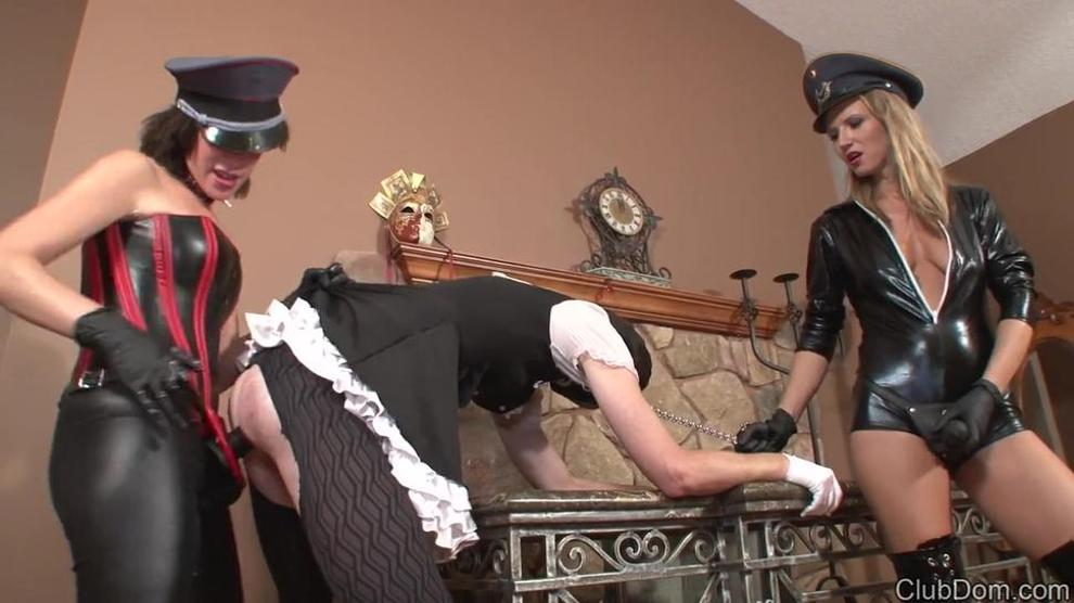 threesome Sissy videos maid