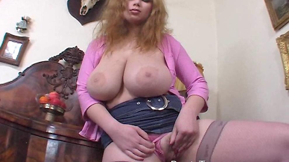 Enormous Natural Tits.