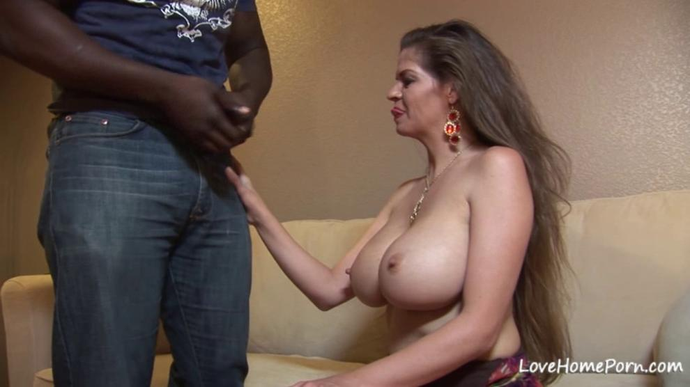 Big tits babes loves the taste of BBC