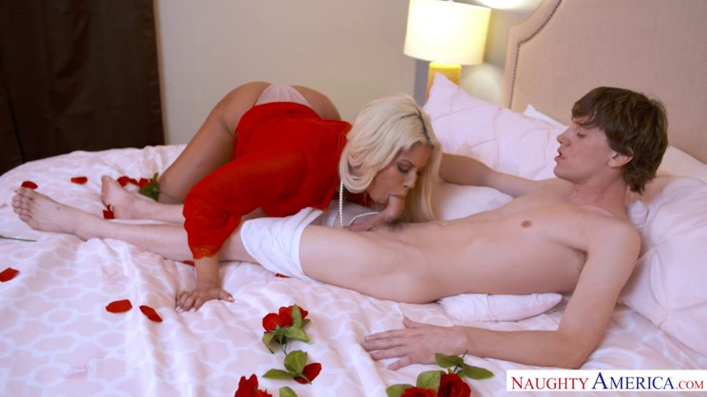 NAUGHTY AMERICA - Sexy Latina Bridgette B Gets Fucked for Valentines Day