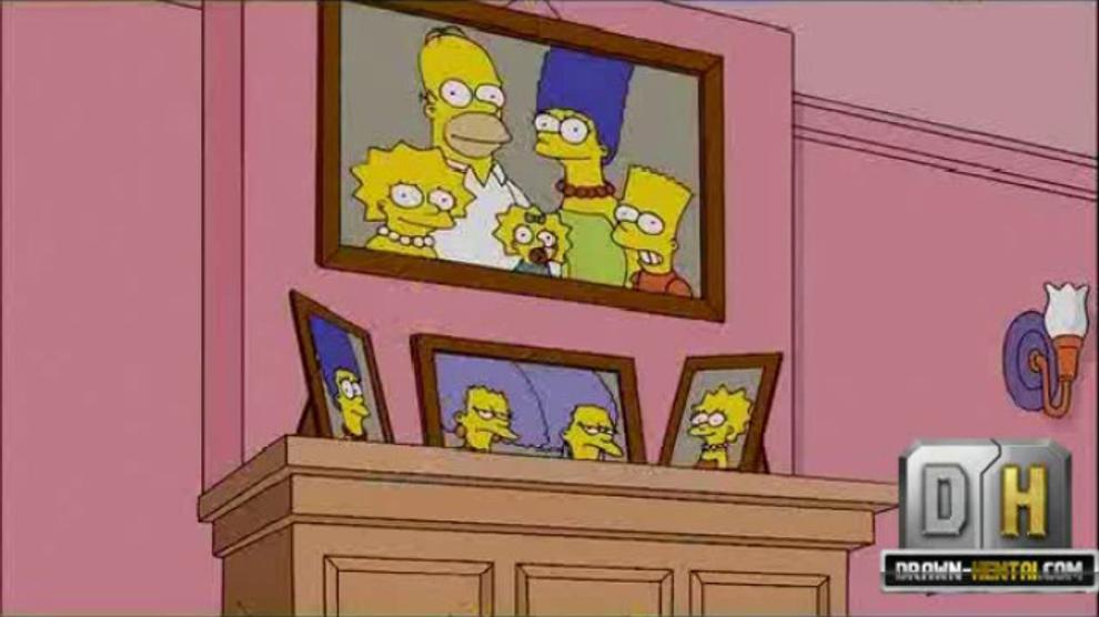 DRAWN HENTAI - Simpsons Porn - Sex Night