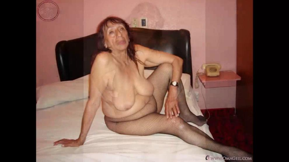 Sexy Amateur Oma