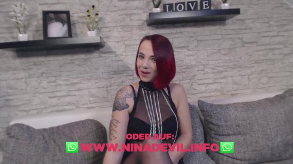 Striptease Von Camgirl Und Amateurin Nina Devil