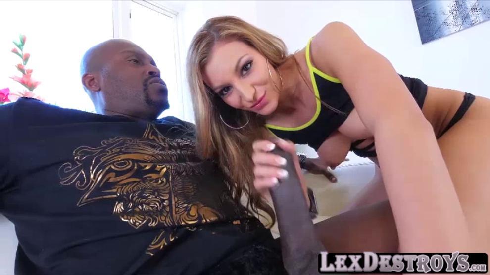 Stunning Latina Babe Moka Mora Takes Interracial Sex