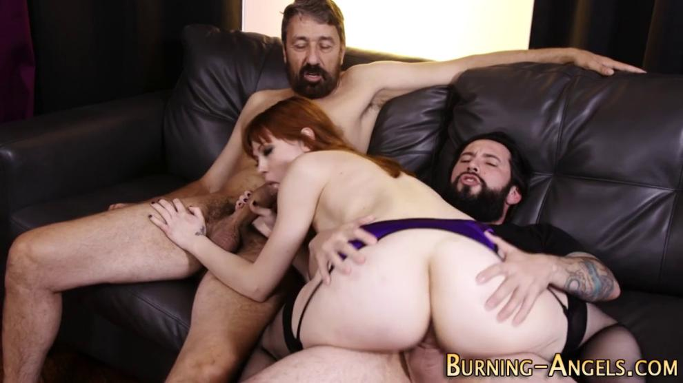 Emo Babe Gets Both Holes Fucked