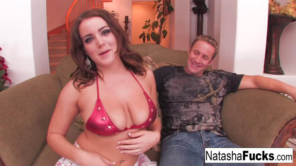 Naughty Natasha Takes The Cock