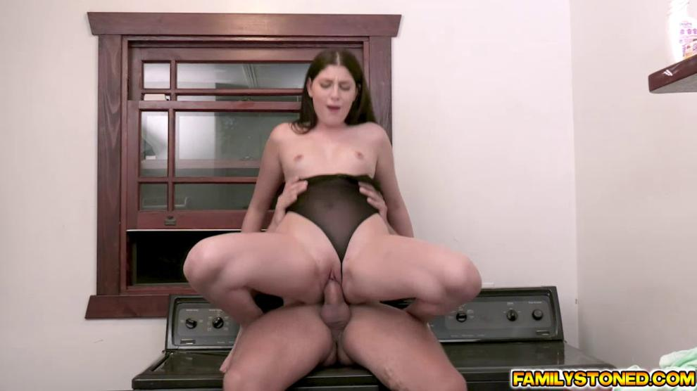 Miranda loves every inch of her stepdads man meat as it goes deep