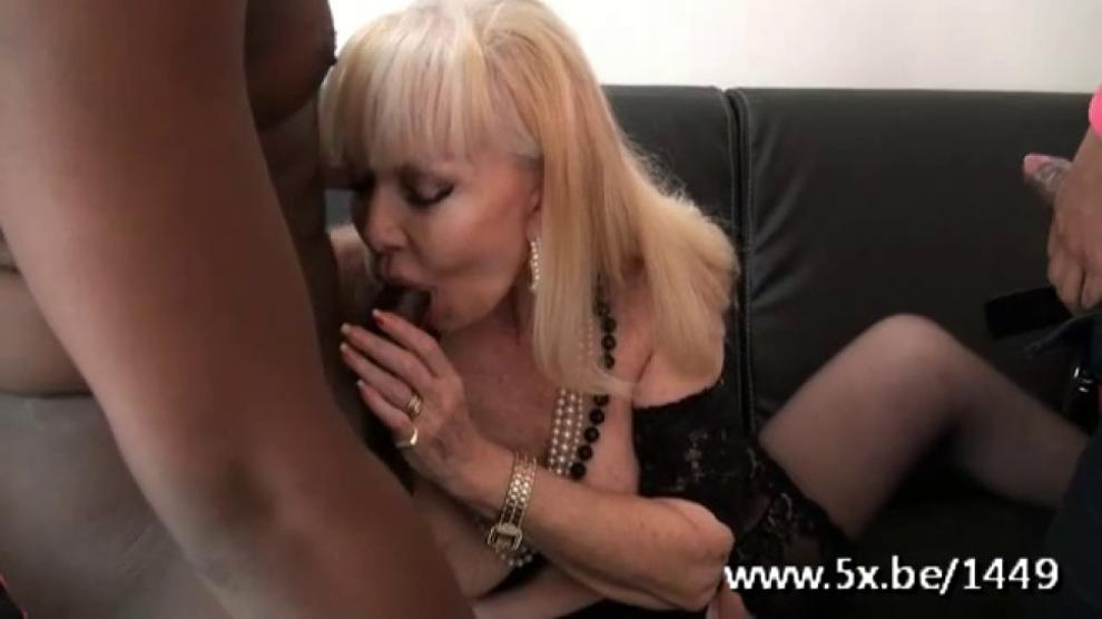 French Cougar Irma Fucked In A Threesome Porn Videos-4569