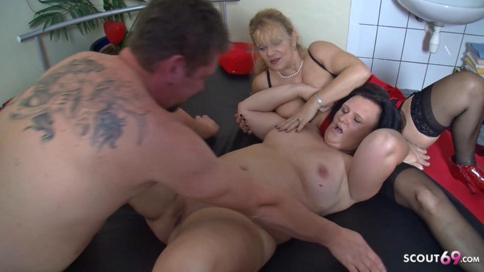 Tits german mature big German big