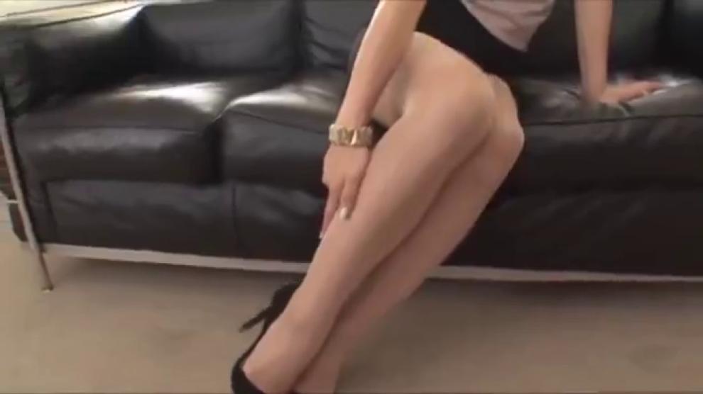 Pantyhose Secretary