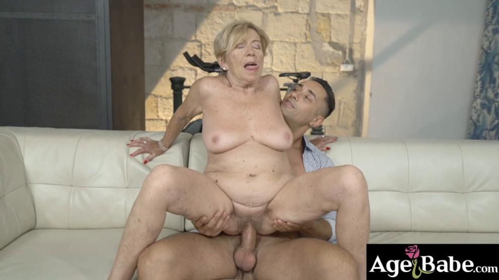 Mugur is happy to be the one to fuck this horny granny nice and easy