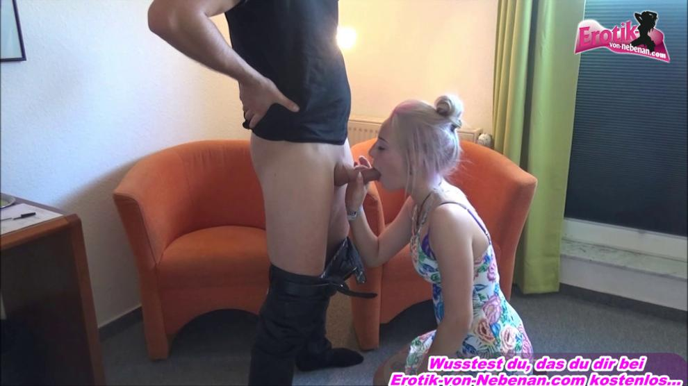 Blond College Girl Fucked