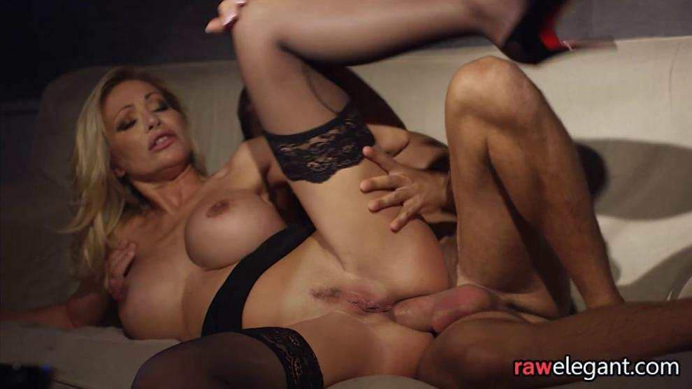 Titty fucked milf beauty anally pounded