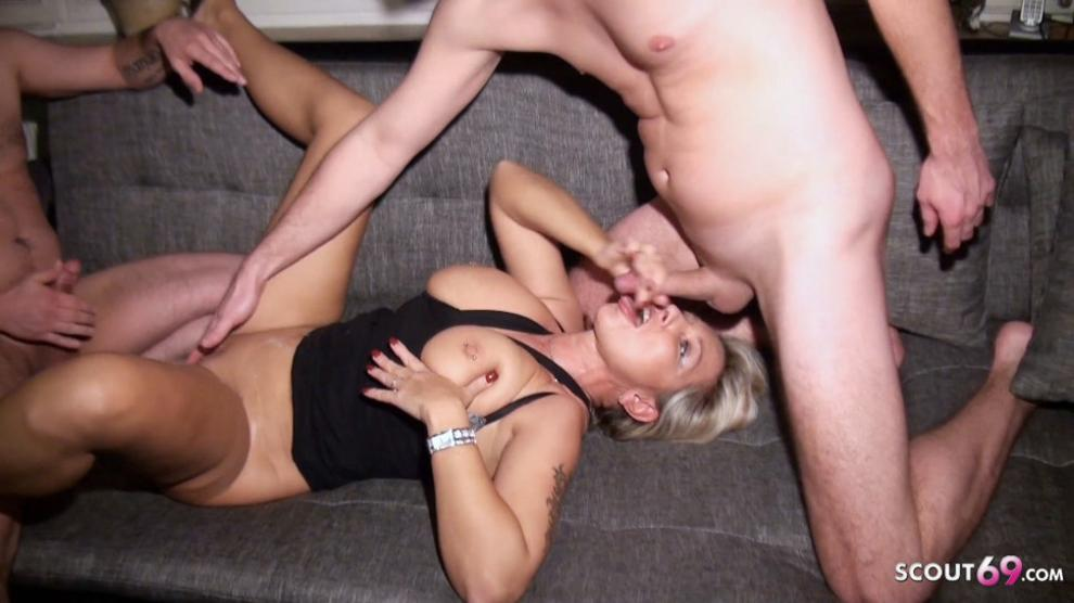 Cheating German Wife Picked Up For SEX - AmateurEuro