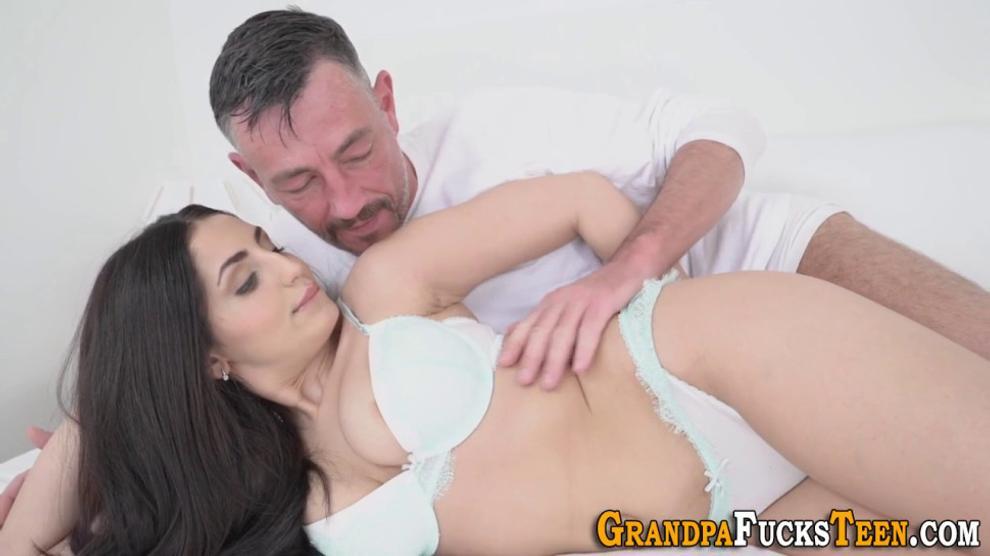 Buxom 19yo Gets Cum Soaked