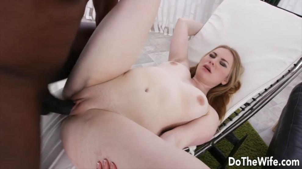 DO THE WIFE - Plowing Blonde Wives While Their Cuckolds Watch Compilation 2