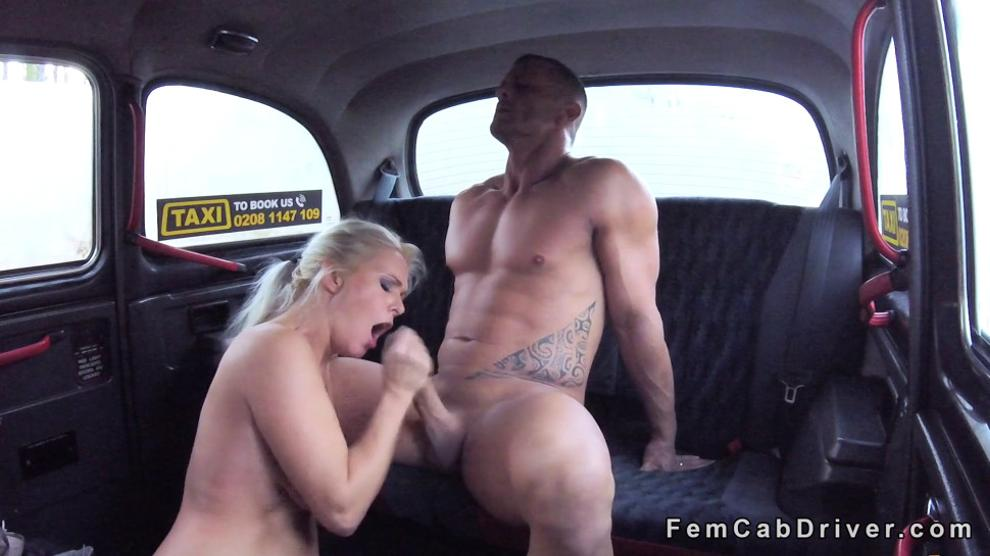 SEXYHUB - Natural busty blonde cab driver fucking