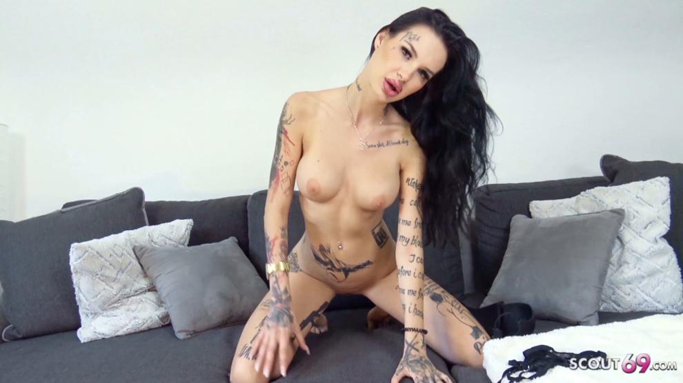 SCOUT69 - Skinny Big Tit Teen Maja Fuck at Real Casting