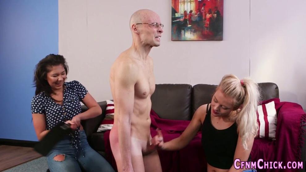 CFNM Dominas Spanking Naked Loser