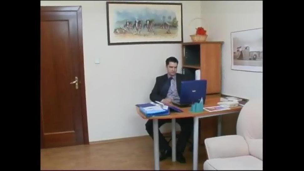 Butterfaced Secretary In Pantyhose