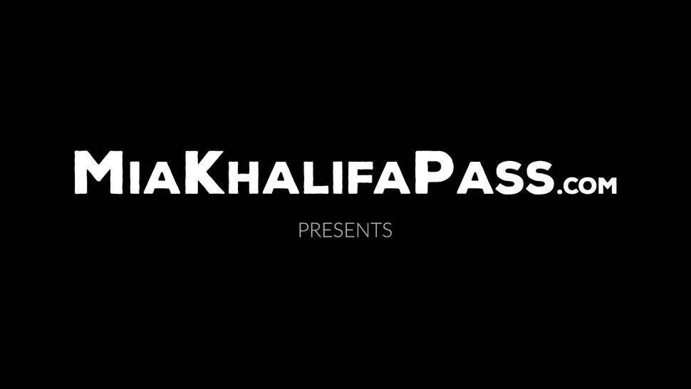 MIA KHALIFA PASS - Arab beauty Mia Khalifa jerking off hung duo for research