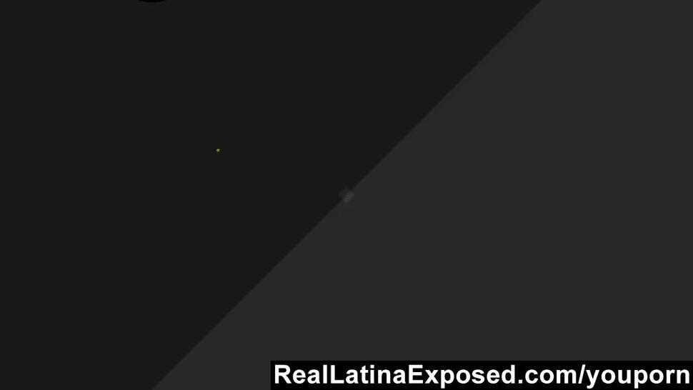 RealLatinaExposed - Latina girl need her holes filled