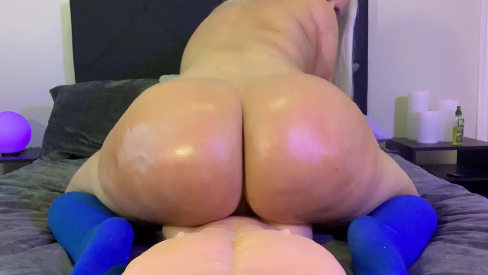 blonde big ass