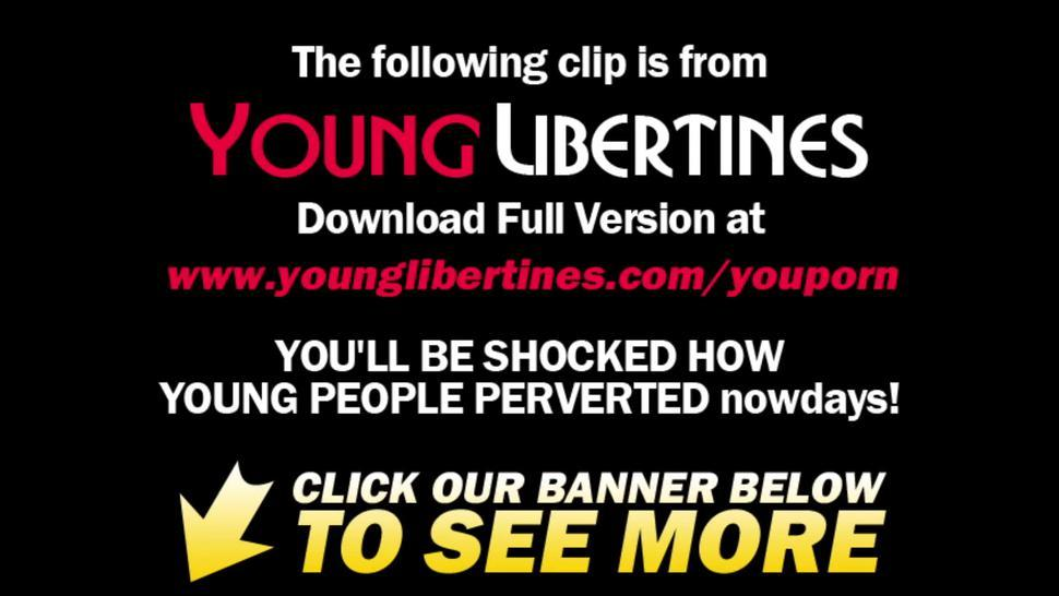 Young Libertines - Round-ass teeny gets nailed