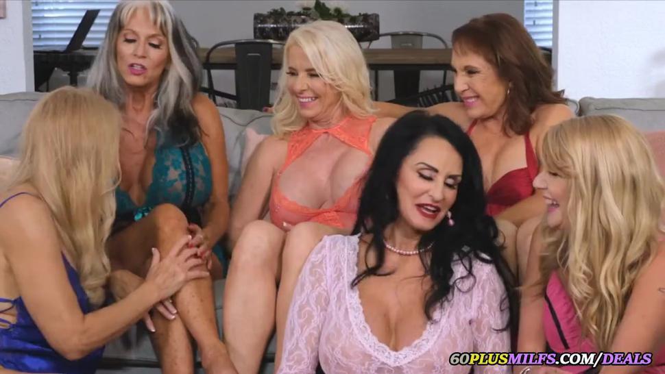 grandmas' lesbian party