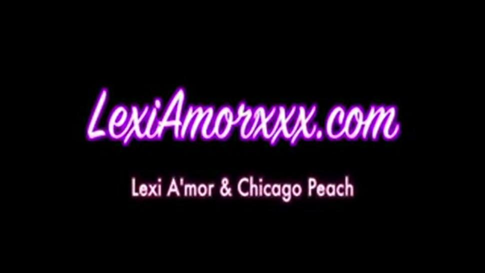 Lexi Amor And Chicago Peach Are Oral Sexy Strapon Lesbian Sex