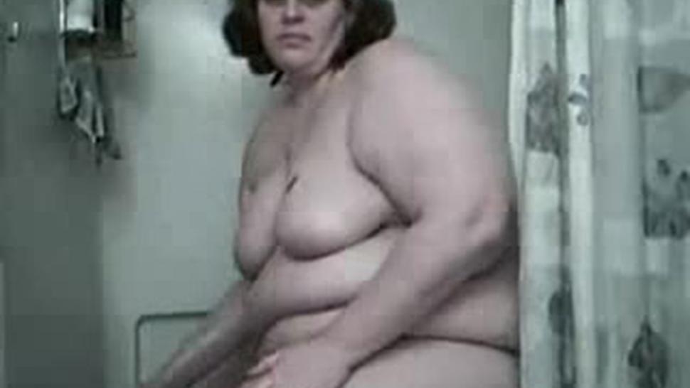 Fat Bbw Girl Mastrubate In The Shower