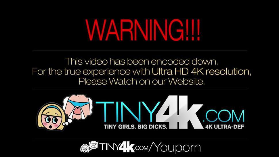 Ava Taylor gets a nice nasty facial - Tiny4K