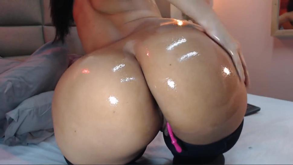 Masturbation/punished tight ass for nice