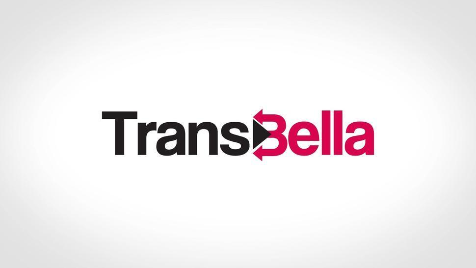 TransBella - BBW Latina TGirl Goes Wild In Hardcore Threesome Sex