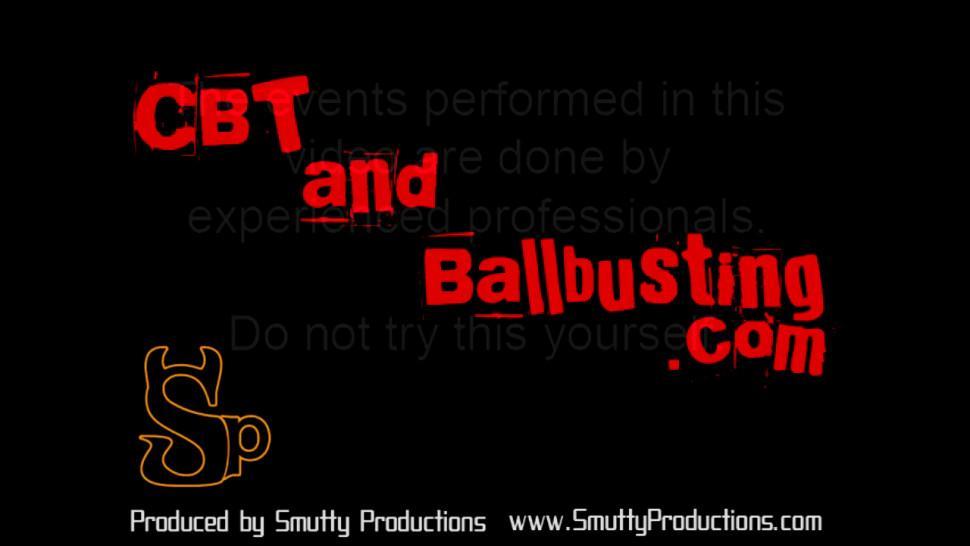 CBTANDBALLBUSTING - CBT Mistress Cheyenne ball busts a new slave