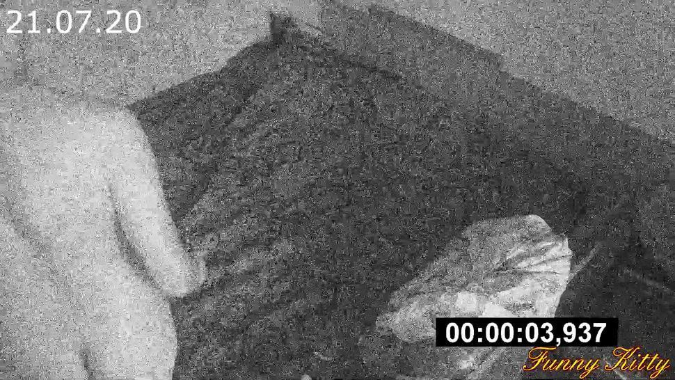 REAL Hidden Cam in hotel! Russian slut Funny Kitty