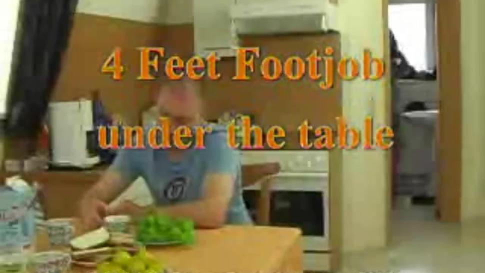 raya 4 feet under table