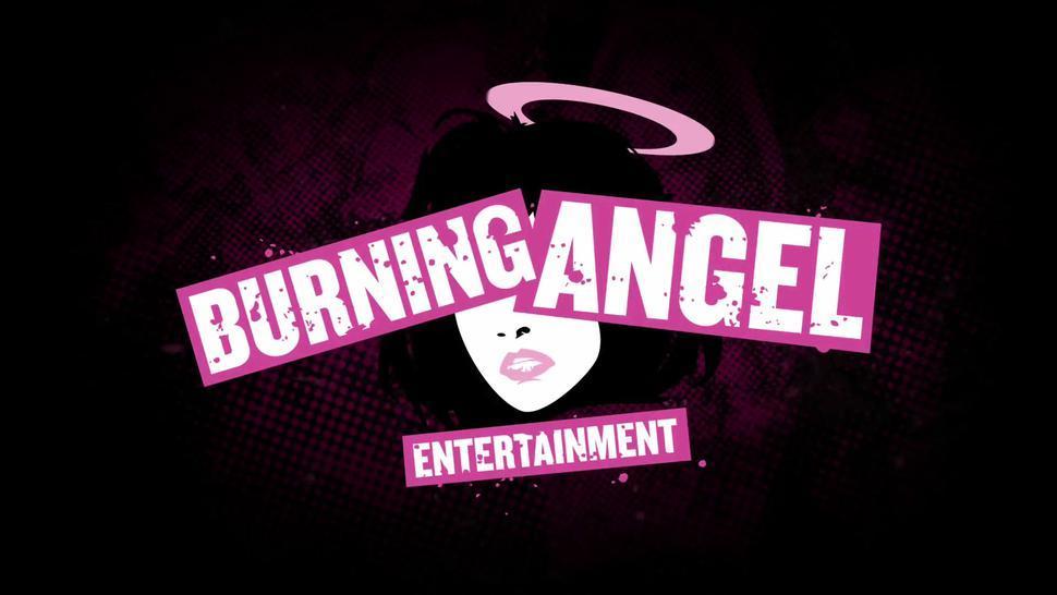 Burningangel Joanna Angel'S Dick Sharing Blowjob