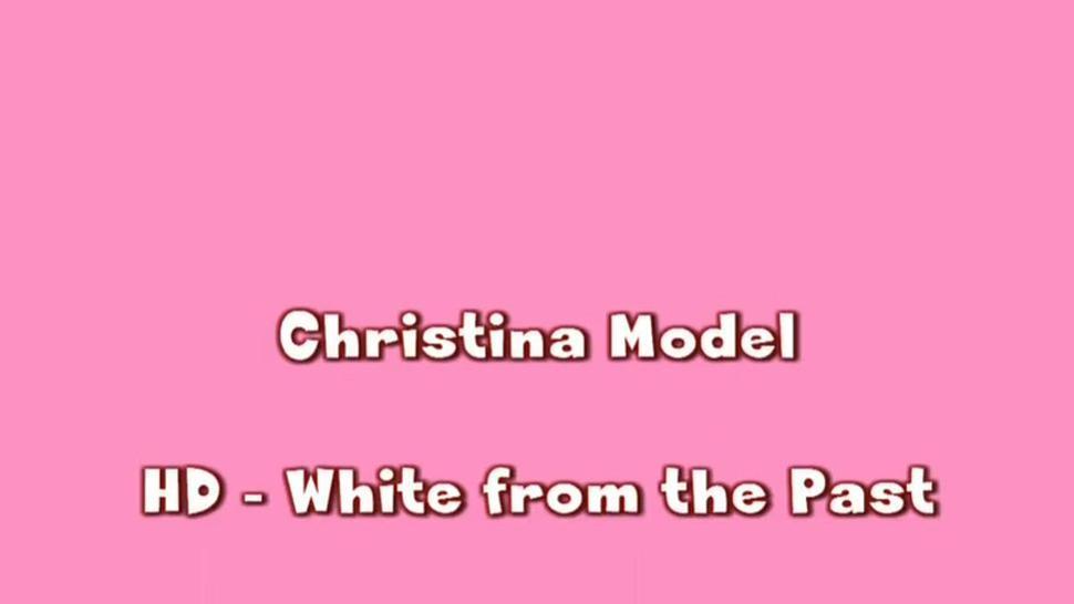 CHRISTINA MODEL BLAST FROM THE PAST WHITE