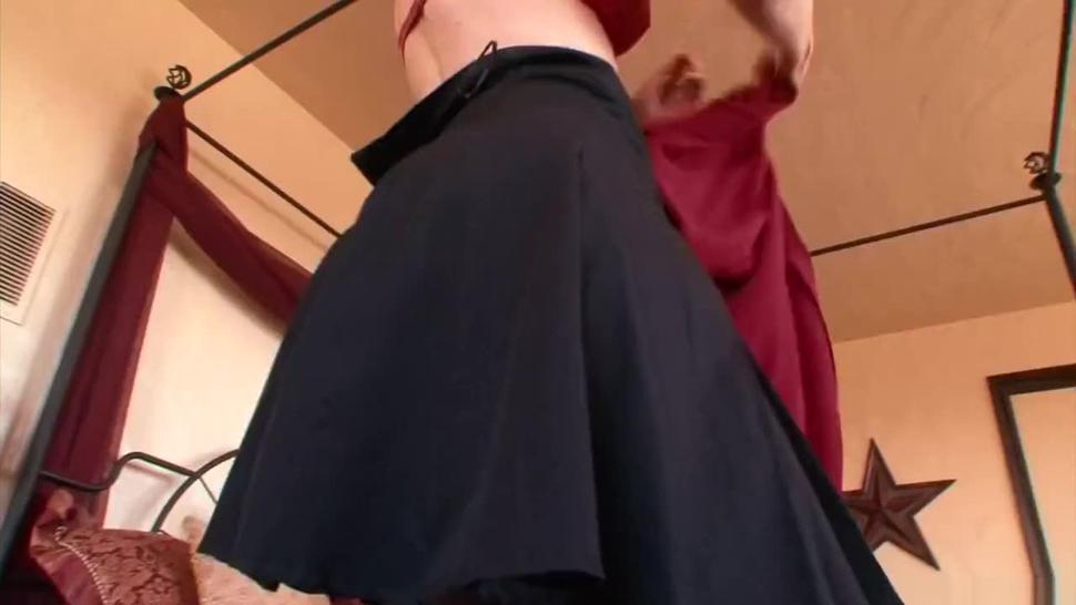 Busty mature Nina Hartley interracial screw