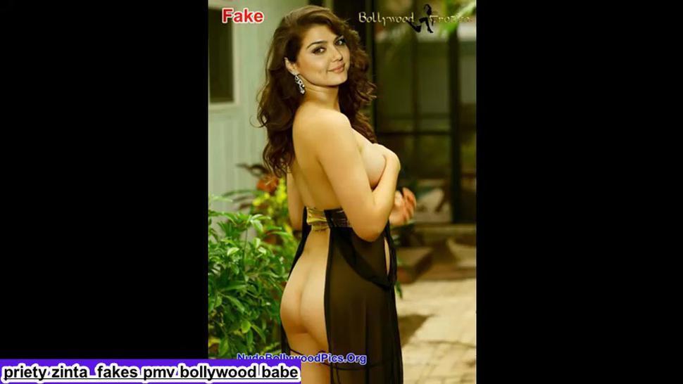 Priety Zinta  fakes pmv bollywood girl