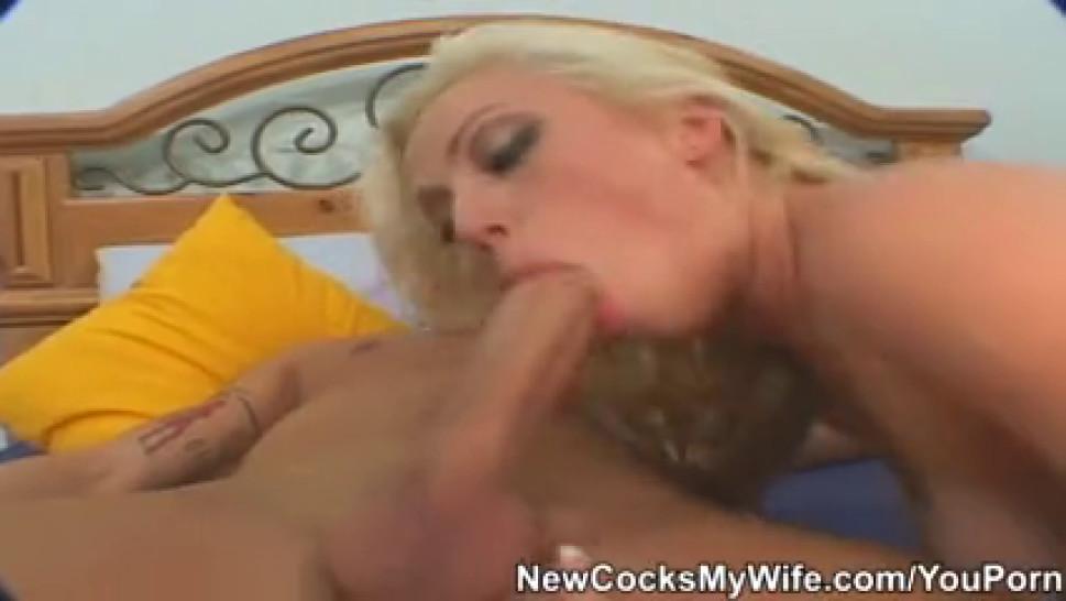 Wifey Adrianna Nicole Get Cum On Boobs