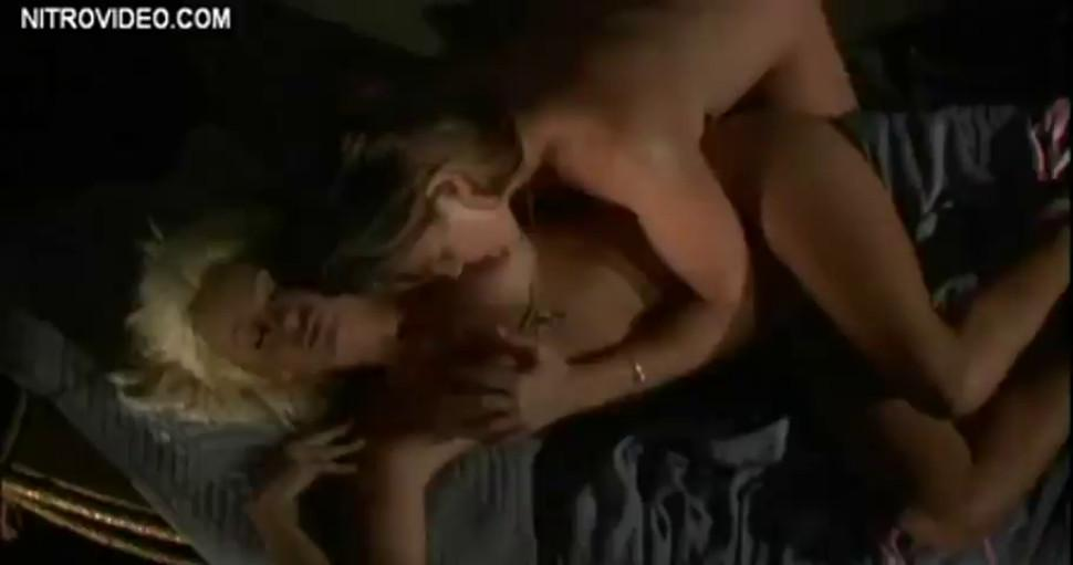 Belinda Gavin and Stacy Burke rub their pussies together